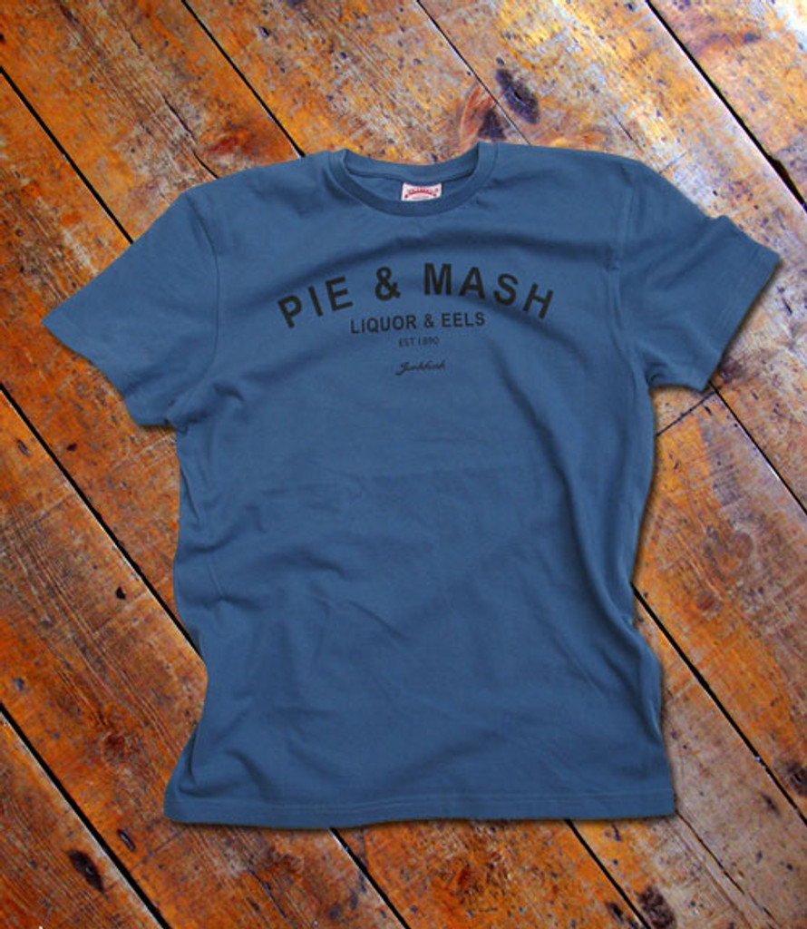 Pie and Mash Typography T shirt