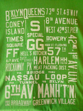 NYC Subway T Shirt