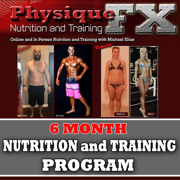 Two Person Special  6 Month In Person Nutrition and Training Program