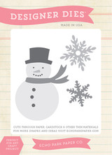 Winter Snowman Die Set