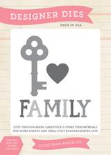 Family is Key Die Set