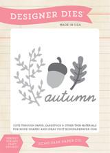 Autumn Days Die Set