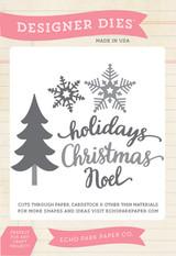 Christmas Holidays Die Set