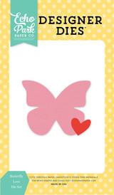 Butterfly Love Die Set