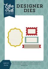 Labels #8 Die Set