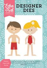 Summer Paper Dolls Die Set