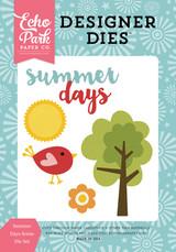 Summer Days Scene Die Set