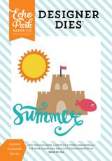 Summer Sandcastle Die Set