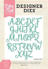 Emma Uppercase Alphabet Die Set