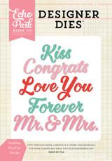 Wedding Word Die Set