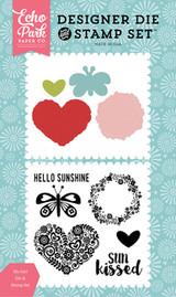 Sun Kissed Die/Stamp Set