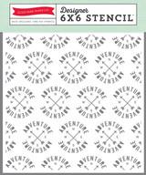 6x6 Stencil - Adventure