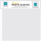 12x12 Page Protectors Made For All 3-Ring Albums     25-Pack