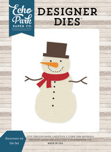 Snowman #2 Die Set