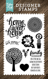 Family Home 4x6 Stamp