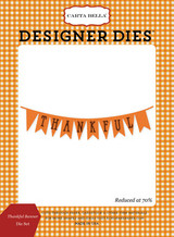 Thankful Banner Die Set