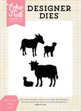 Stable Animals Nativity Die Set