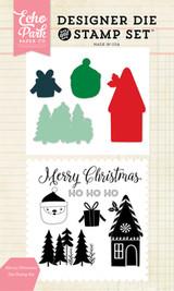 Merry Christmas Die/Stamp Set