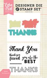 Thanks Die/Stamp Set