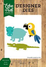 Safari Animals #2 Die Set