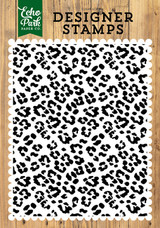 Cheetah A2 Background Stamp