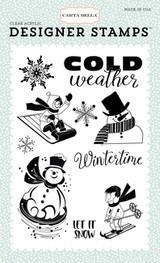 Wintertime 4x6 Stamp