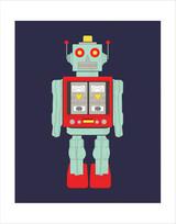 Robot Art Print - 11x14