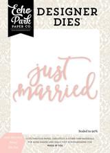Just Married Word Die Set