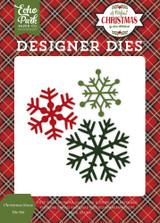 Christmas Snow Die Set