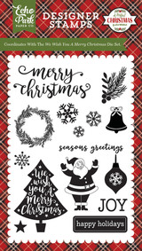 We Wish You A Merry Christmas Stamp