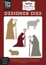 Shepherds & Sheep Die Set