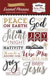 Wise Men Still Seek Him Enamel Words & Phrases