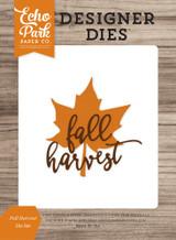 Fall Harvest Die Set