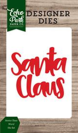 Santa Claus Word Die Set