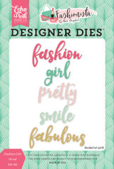 Fashion Girl Word Die Set