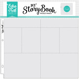 4x6/3x4 Pockets - 12x12 Pocket Pages 25 Sheet Pack