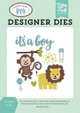 It's A Boy Die Set