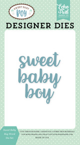 Sweet Baby Boy Die Set