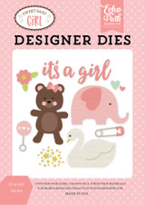 It's A Girl Die Set