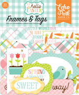 Hello Easter Frames & Tags Ephemera