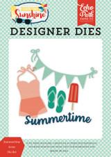 Summertime Icons Die Set