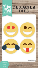 Emoji Set No. 1 Die Set