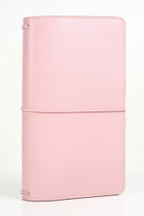 Pink Travelers Notebook