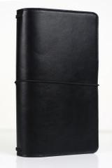 Black Travelers Notebook