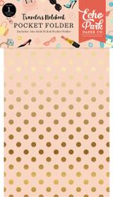 Metropolitan Girl Travelers Notebook Pocket Folder Insert