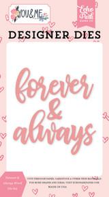 Forever & Always Word Die Set