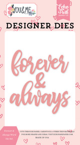 Forever & Always Word Die Set