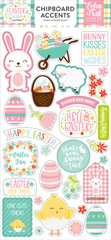 Easter Wishes Chipboard