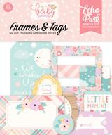 Hello Baby Girl Frames & Tags Ephemera
