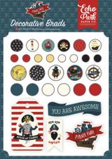 Pirate Tales Decorative Brads